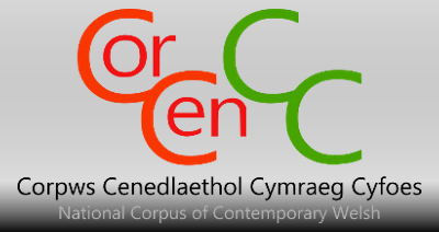 CorCenCC - National Corpus of Contemporary Welsh